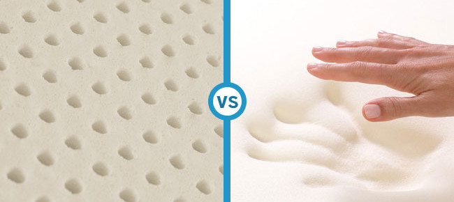 What's The Difference Between Natural Latex Mattresses and Memory Foam?