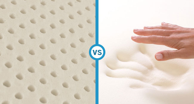Latex vs. Memory Foam - The Two Mattresses Compared