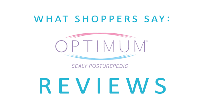 What Shoppers Say Sealy Optimum Reviews Best Mattress Reviews